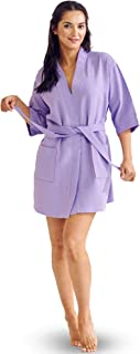 Best waffle kimono robe - knee length Reviews