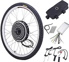 Z ZELUS Ebike ombouwset 26 inch E-bike conversiekit 36 V 500 W ebike elektrische fiets ombouwkit (voorwiel)