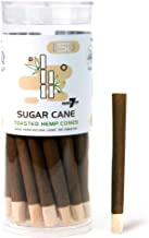 Cyclones Sugarcane Flavored Pre Rolled Hemp Wraps | 25 Pack | Natural Organic Prerolled Wraps with Packing Sticks Included for Efficiency