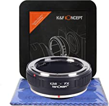 K&F Concept K/AR-FX Compatible for Konica AR to Fujifilm X-Series Lens Mount Adapter with Cleaning Cloth, Konica AR to FX, Konica AR to Fujifilm X Series Adapter, K/AR-FX Adapter (K/AR-FX)
