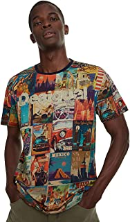 Men's Postcards T-Shirt Erenesto