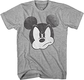 Mad Mickey Mouse Graphic Tee Classic Vintage Disneyland World Mens Adult Tee Graphic T-Shirt for Men Tshirt