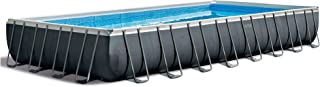 Intex 32ft x 16ft x 52in Pool Set with Floating Lounge (2 Pack) and Cooler Float
