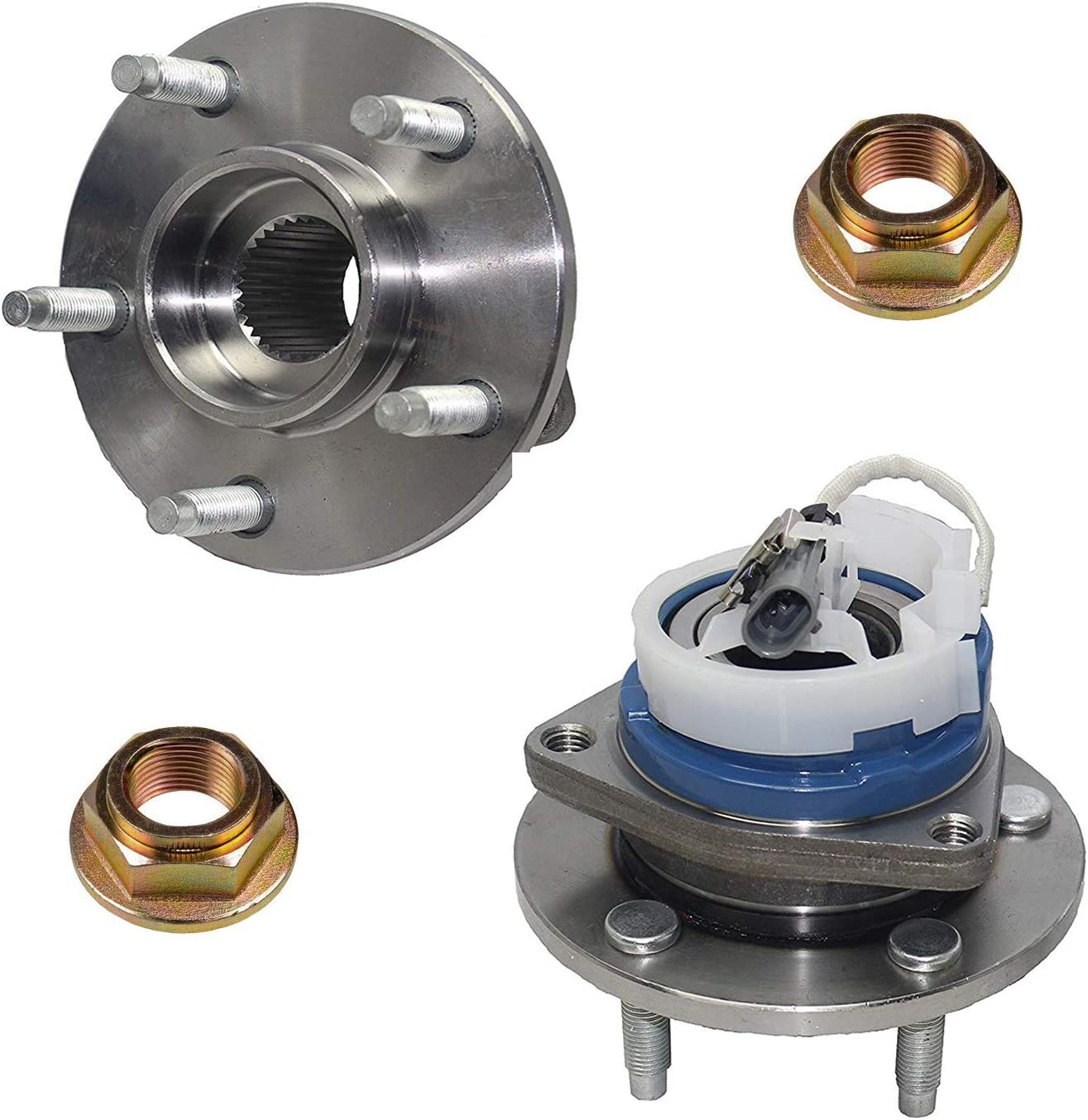 Detroit Axle - 流行のアイテム Front Wheel OUTLET SALE for Impala Hub Bearing Chevy