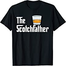 Whiskey Whisky Scotchfather Father Dad Alkohol Drinking Gift T-Shirt