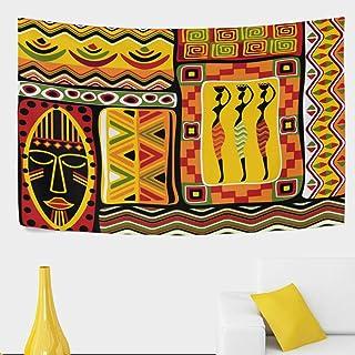 Décoration de la maison Hustor Africain en Relief Motif ...