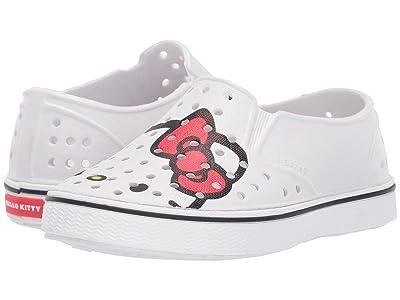 Native Kids Shoes Miles Print (Toddler/Little Kid) (Shell White/Shell White/Hello Kitty) Girls Shoes