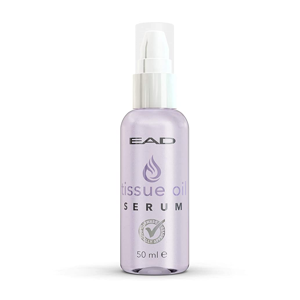 EAD Tissue Oil Serum Lavender 50ml Multiuse Skincare with Vitamin A & E for Scars, Acne Scars, Uneven Skin Tone, Stretch Marks, and Dry, Dehydrated Skin