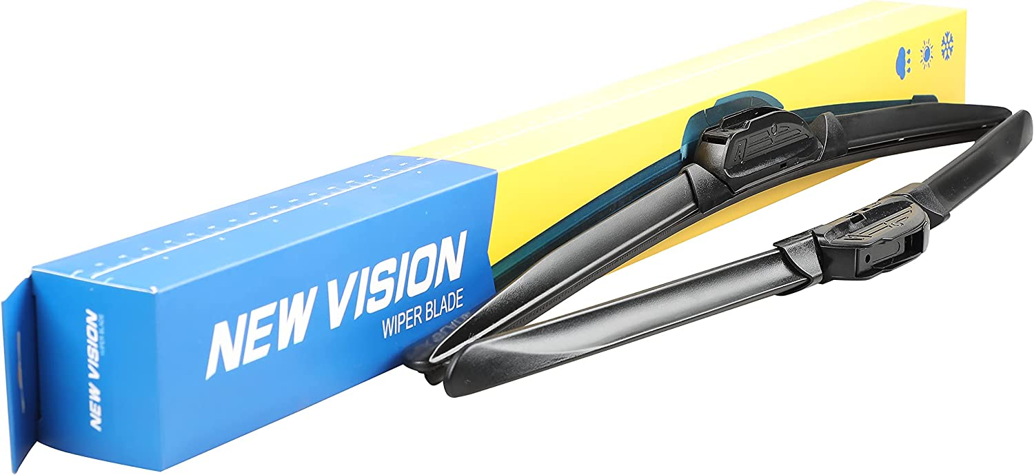 New Vision Wiper Blades 19 inches and 19 inches Genuine Windshie