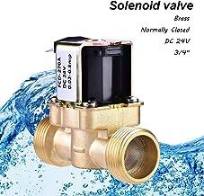 /Électrovanne /électrique en laiton 3//4 24 V AC VAC NPT gaz eau air normalement ferm/é NC