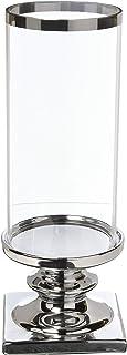 Torre & Tagus 902202B Fino Pedestal Hurricane Candle Holder, Tall