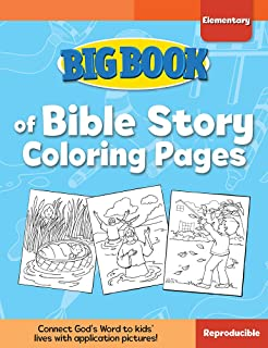Big Book of Bible Story Coloring Pages for Elementary Kids (Big Books)