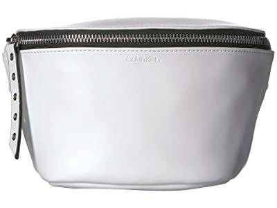 Calvin Klein Belt Bag, Small Eyelets on Strap (White) Women