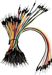 Z&T Solderless Flexible Breadboard Jumper Wires M/M 100pcs