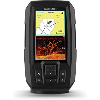 Garmin STRIKER 4cv Fishfinder w// ClearVu Sonar Transducer 010-01806-00 BRAND NEW
