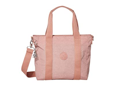 Kipling Asseni Mini Tote Bag (Galaxy Twist Pink) Tote Handbags