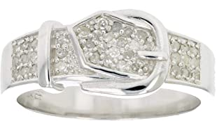 Sterling Silver Diamond Wedding Band (1/4 CT)