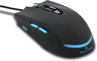 ENHANCE Pro LED Gaming Mouse GX-M2 Fully Programmable PC Gaming Mouse with 3200 DPI for MMO and FPS, 4 Custom Profiles, Internal Memory and Premium High-Accuracy Optical Sensor