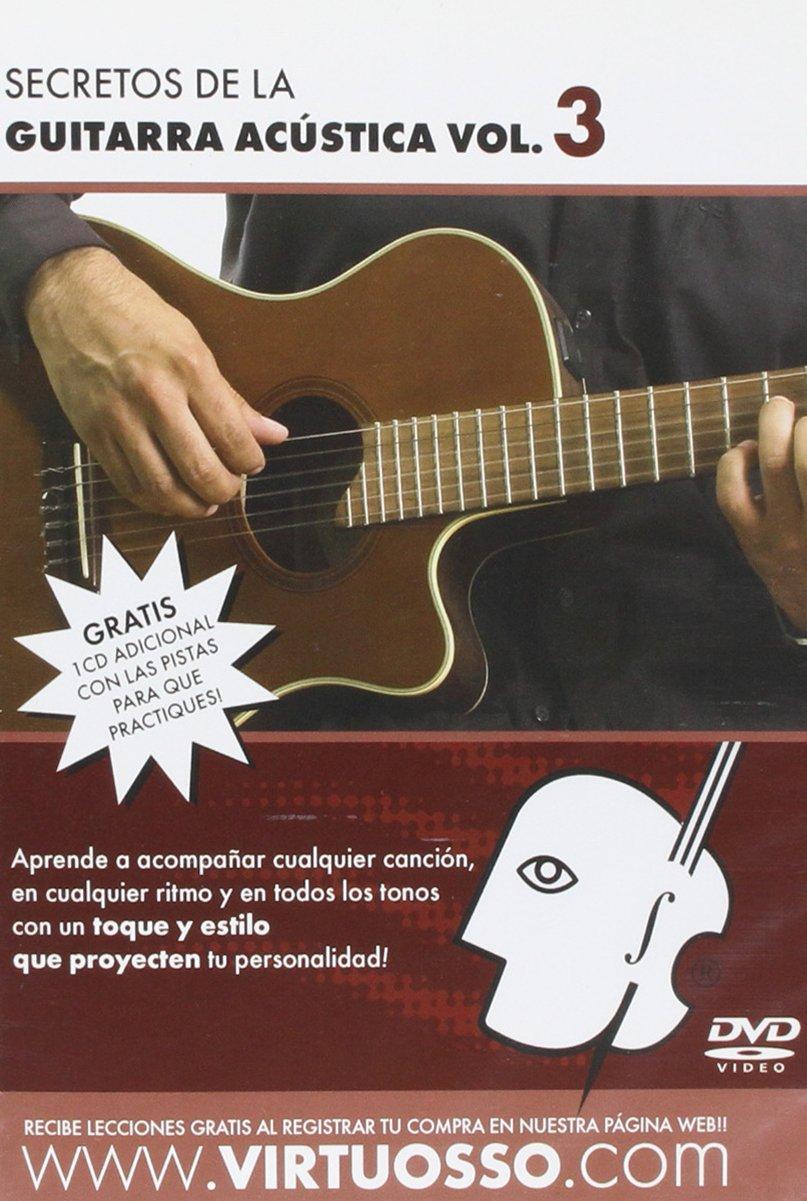 virtuosso guitarra acústica completo método en 3 DVD (curso ...