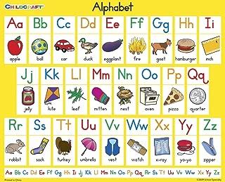 Childcraft Student Sized English Alphabet Chart, 11 x 9 Inches, Set of 25