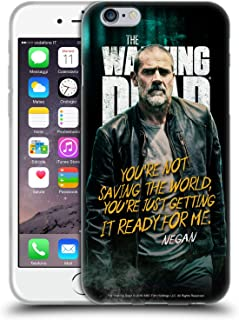 Official AMC The Walking Dead Negan Season 9 Quotes Soft Gel Case Compatible for iPhone 6 / iPhone 6s