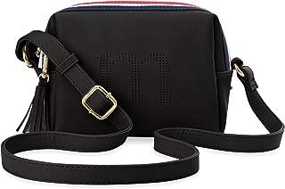 Optik Fransen grau kleine stilvolle Damentasche Schultertasche Nubuk