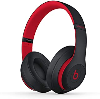 Beats MRQ82 Beats Studio3 Wireless Headphones - Decade Collection, Defiant Black-Red - BLACK RED (Pack of1)
