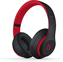 Beats Studio3 Wireless Noise Cancelling Over-Ear Headphones - The Beats Decade Collection - Defiant Black-Red