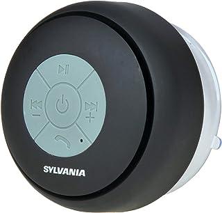Sylvania SP230-Black Bluetooth Shower Speaker (Black)