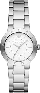 Emporio Armani Women's Quartz Watch analog Display and Stainless Steel Strap, AR11250