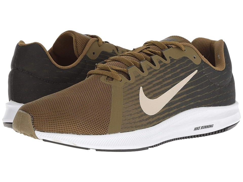 Nike Downshifter 8 (Olive Flak/Strong/Sequoia/Hyper Crimson) Men