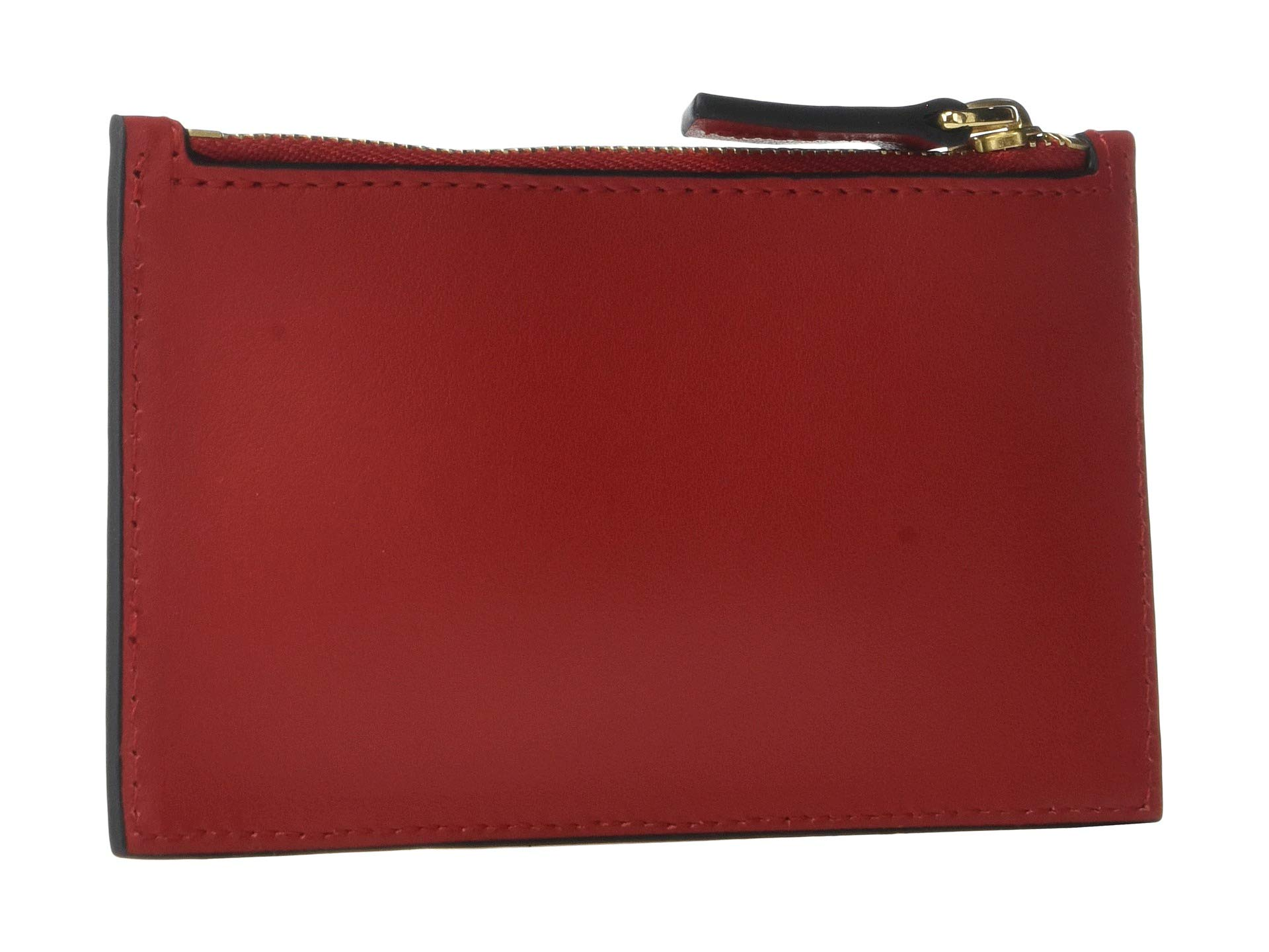 Les True Adana Essentiels Card Red Want Holder Zipped AOTpdnAqw