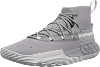 Under Armour Boys' Grade School SC 3Zer0 II Basketball Shoe, 101/Steel, 6.5