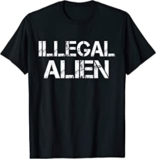Illegal Alien Political Halloween Costume Idea T-Shirt
