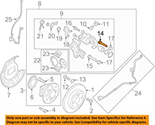 Beck Arnley 085-1821 Premium ASM Brake Pad