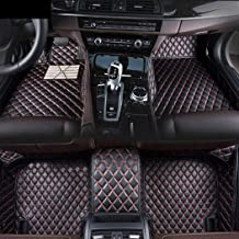for Land Rover Range-Rover-evoque 4-Door 2012-2015 Custom Car Floor Mats Luxury XPE Leather Full Surrounded Protection Waterproof Anti-Slip Car mat Carpet Interior Liners Accessories Black Red