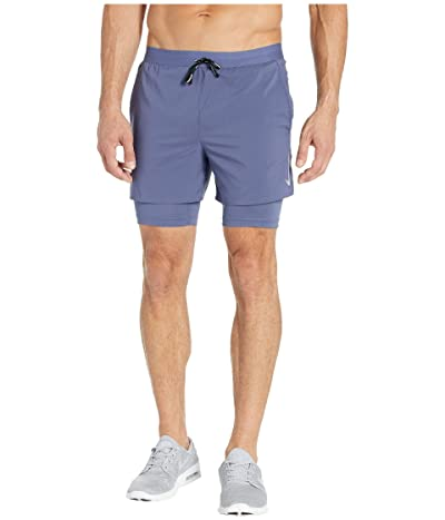 Nike Flex Stride Shorts 5 2-in-1 (Sanded Purple/Reflective Silver) Men