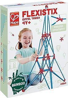 Hape Eiffel Tower Flexistix Kit - 4 Years & Above - Multi Color