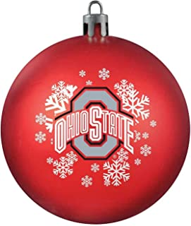 NCAA Ohio State Buckeyes Four-Pack Sports Ornaments