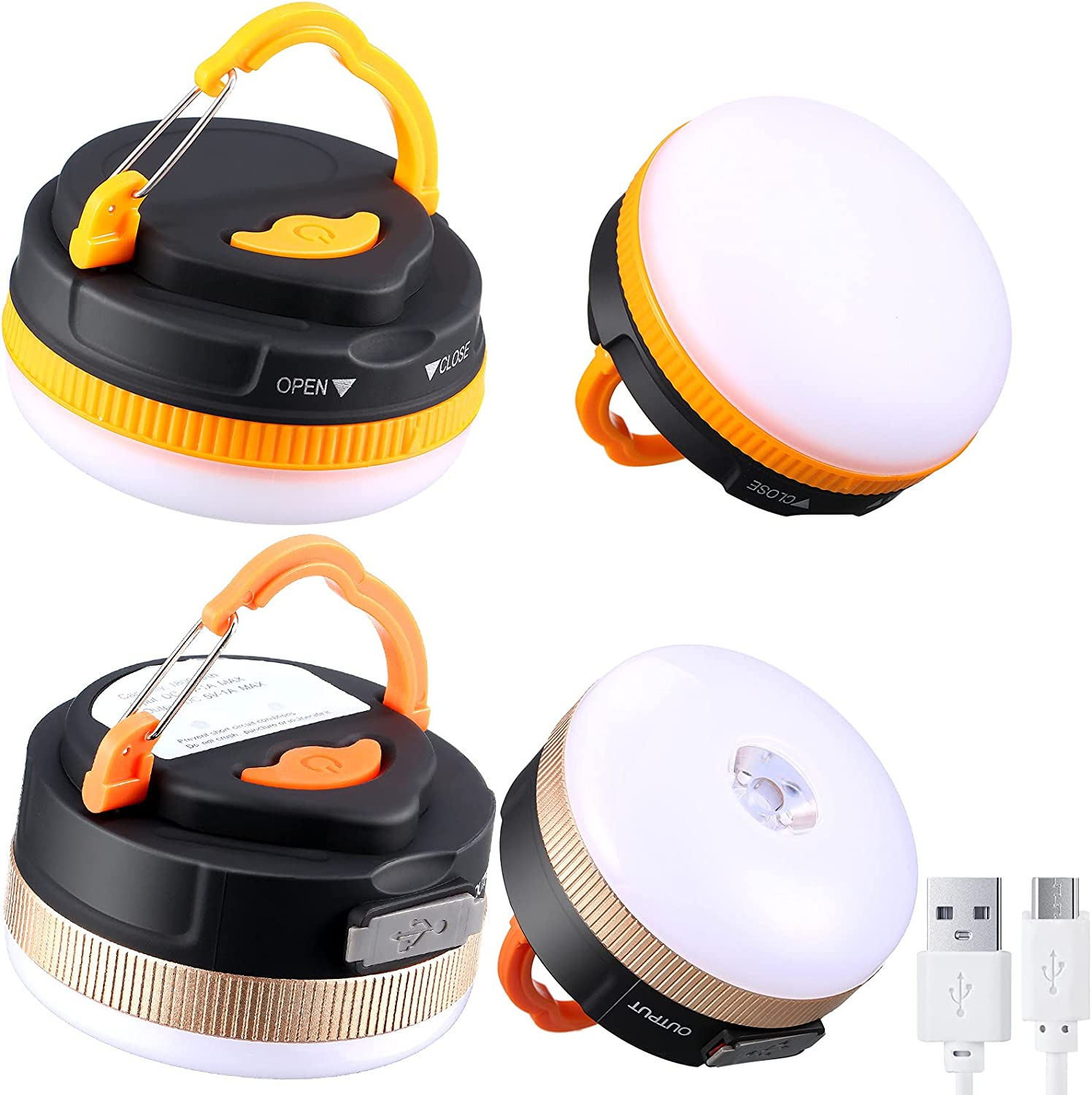 Honoson Sale Special Price 2 Pieces Max 50% OFF Tent Light Outdoor Bulb Camping LED Lantern 20