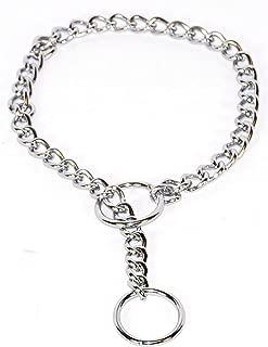 Hamilton Extra Fine Choke Chain Dog Collar