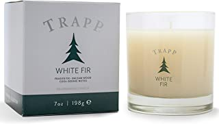 Trapp Seasonal Collection 7oz Poured Scented Candle, White Fir