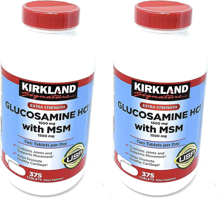 Kirkland Signature Extra Max 63% OFF Strength Glucosamine HCI M Max 66% OFF 1500mg with