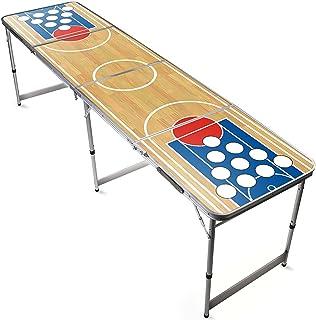 Table Beer Pong Officielle Basket   Qualité Premium   Dimensions Compétitions Officielles   Etanche et Résiste aux Rayures...