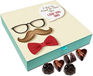 Chocholik Fathers Day Gift Box - I Am So Proud to Have A Dad Like You Chocolate Box - 9pc