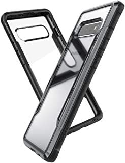 X-Doria Defense Shield Series, Samsung Galaxy S10 Phone Case - Military Grade Drop Tested, Anodized Aluminum, TPU, and Polycarbonate Protective Case for Samsung Galaxy S10, (Black)