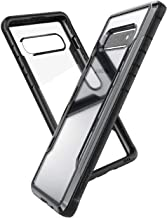 X-Doria Defense Shield, Samsung Galaxy S10 Phone Case - Military Grade Drop Tested, Anodized Aluminum, TPU, and Polycarbonate Protective Case for Samsung Galaxy S10, (Black)
