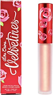Lime Crime Metallic Velvetines, Siren - Peach Gold - French Vanilla Scent - Long-Lasting Liquid Metal Matte Lipstick - Won...