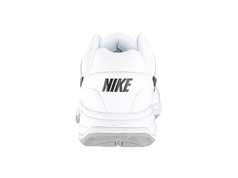 Lite medio gris Nike blanco negro Court YfZxxwn5Iq