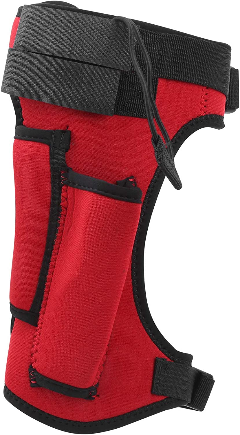 Taidda- 3.5Mm Neoprene+Nylon Cloth Limited price sale 121G Wrap Diving Sh Red Knife A surprise price is realized